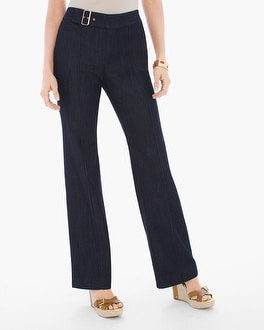 Chico's Belted Trousers | Tuggl