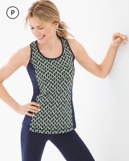 Chico's Petite Geo Print Tank at Chico's in Auburn, GA | Tuggl