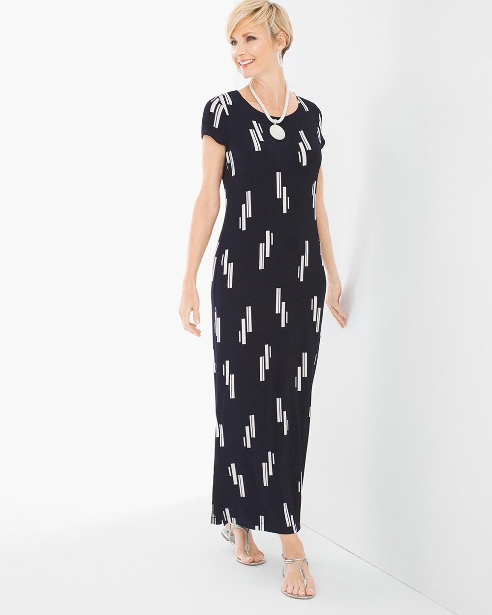 a649820c4586 Vertical Geo Printed Dress - Chico's