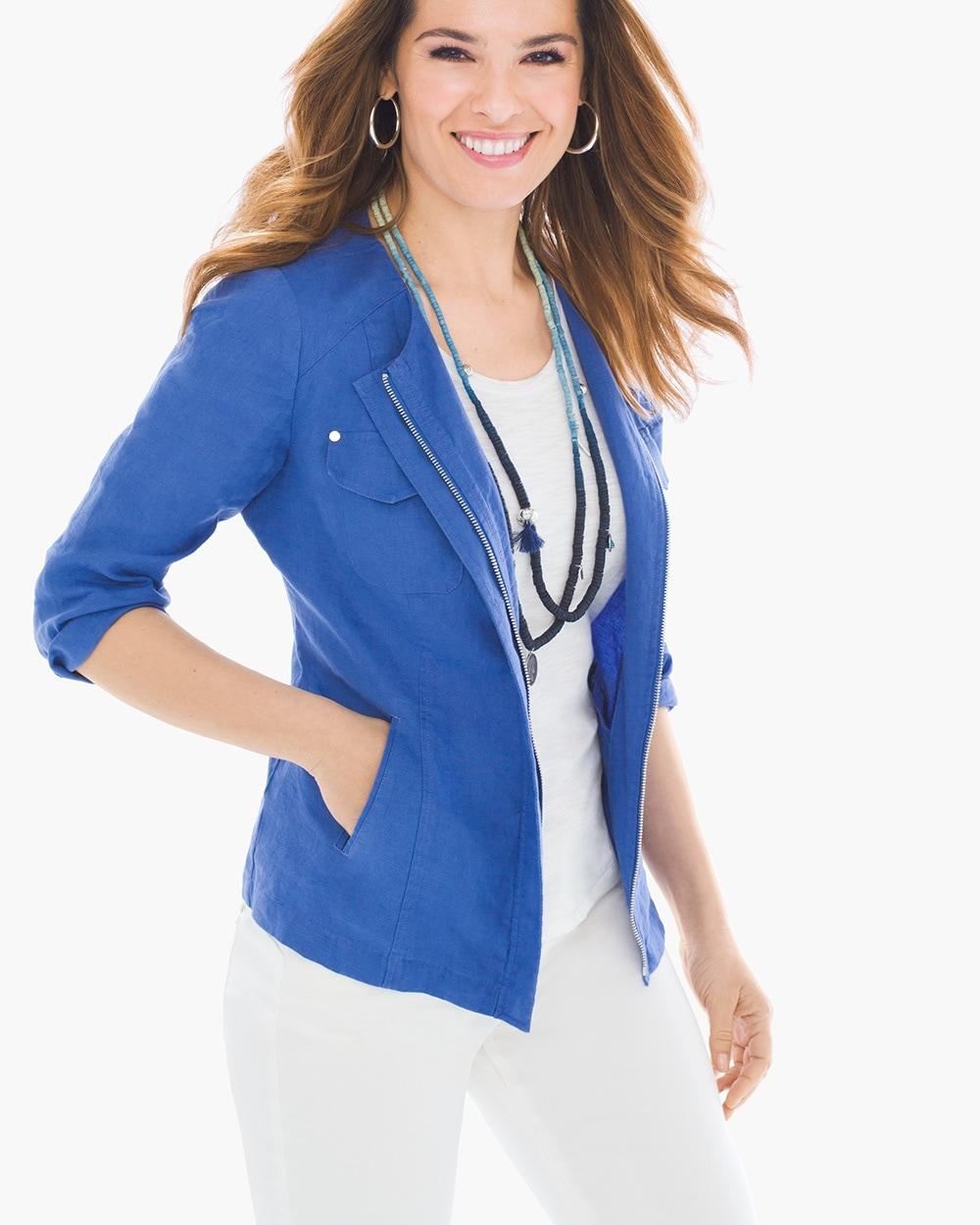 Clean Linen Jacket