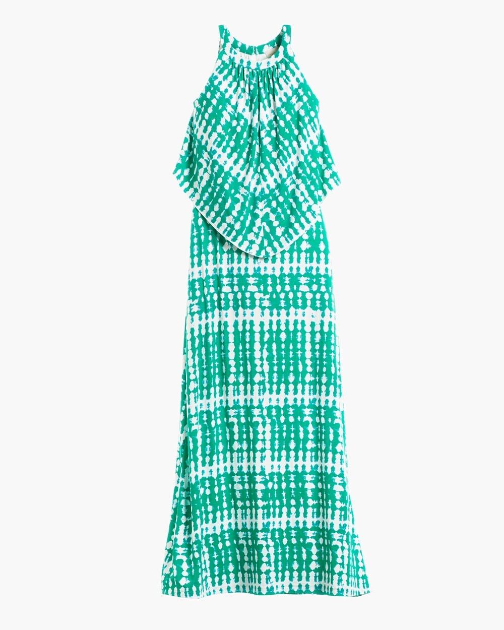 e2122c0dfae Return to thumbnail image selection Breezy Tie-Dye Popover Maxi Dress