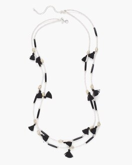 Chico's Estella Double-Strand Necklace | Tuggl