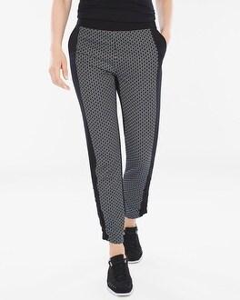 Chico's Neema Jacquard Pieced Pants | Tuggl