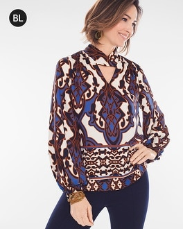 Chico's Petite Billow-Sleeve Top at Chico's in Brooklyn, NY   Tuggl
