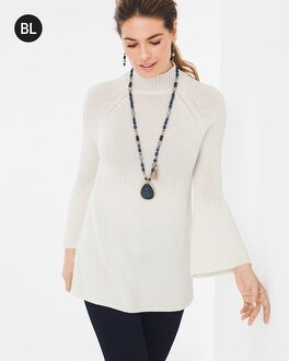 Chico's Flare-Sleeve Sweater | Tuggl