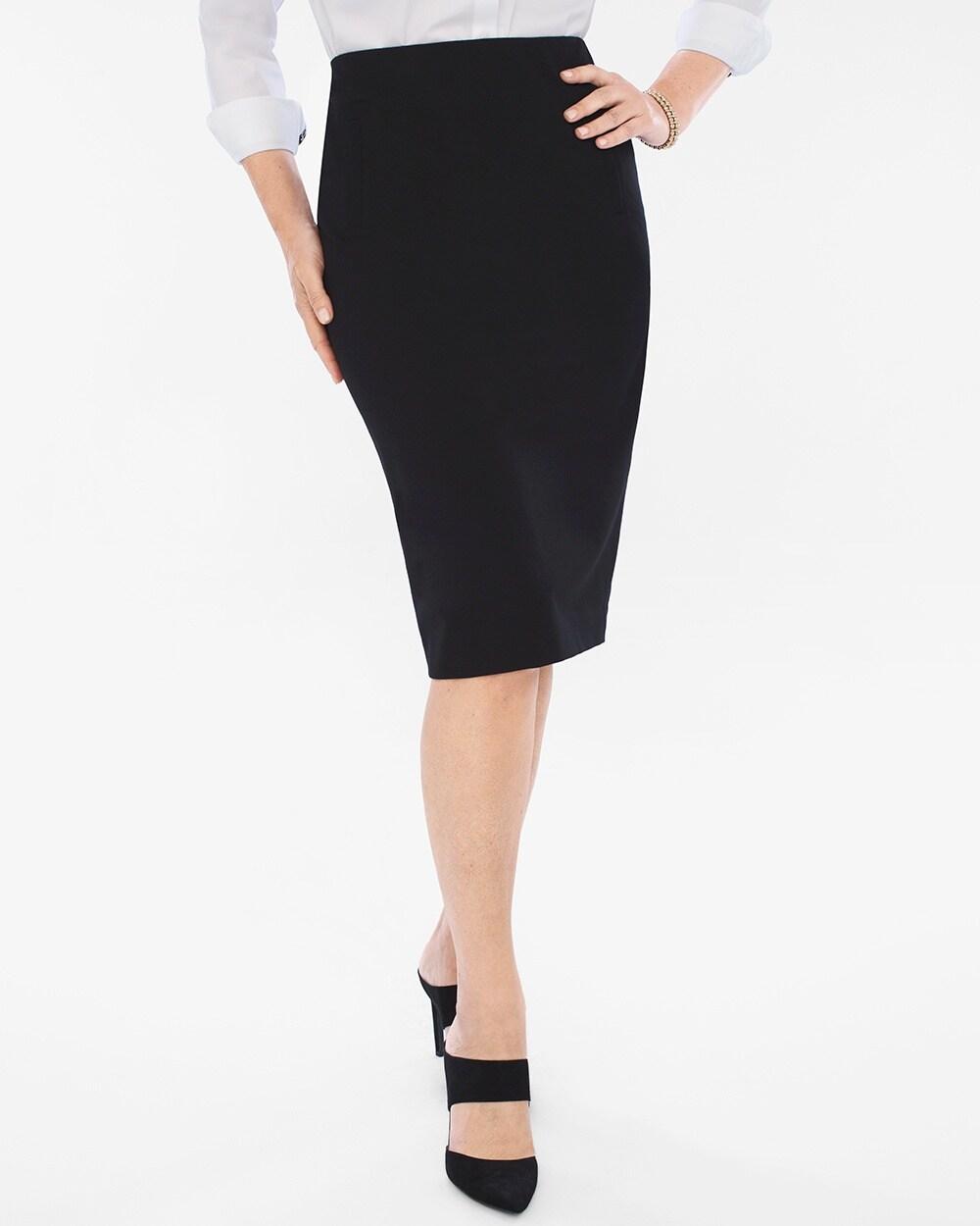 34406a398c Juliet Ponte Pencil Skirt - Chico's