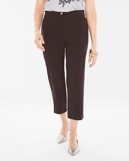 Chico's Neema Side-Button Crops at Chico's in Brooklyn, NY | Tuggl