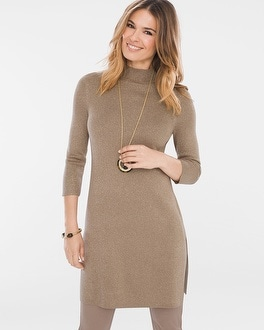 Chico's Side-Slit Sweater at Chico's in Brooklyn, NY   Tuggl