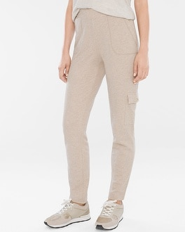 Chico's Knit Cargo Pants | Tuggl