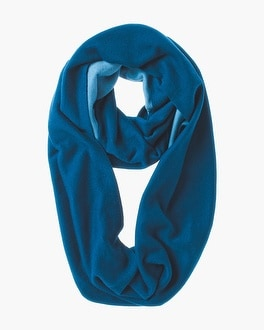 Chico's Reversible Two-Tone Infinity Scarf | Tuggl