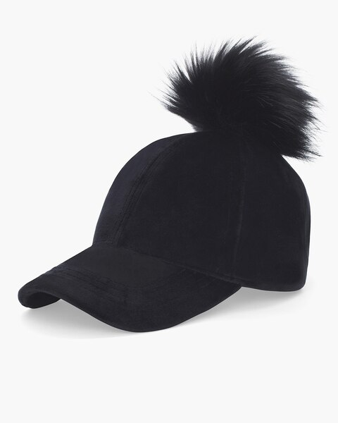 e92bee84459 Faux Fur Pom-Pom Hat - Chico s