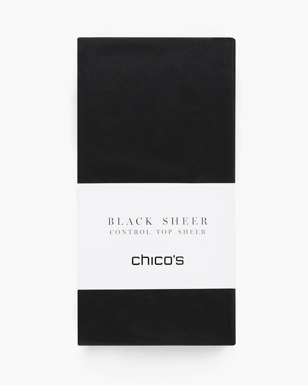 107a0b128db Black Sheer Tights - Chico s