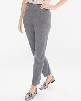 Chico's Cotton-Cashmere Blend Pants | Tuggl