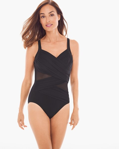 225b300399297 Miraclesuit Network Madero One-Piece Swimsuit - Women's One Piece Swimsuits  - Women's Swimsuits - Women's Clothing - Chico's