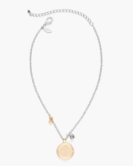 Chico's Rillie Short Pendant Necklace | Tuggl