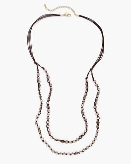 Chico's Belle Multi-Strand Necklace | Tuggl