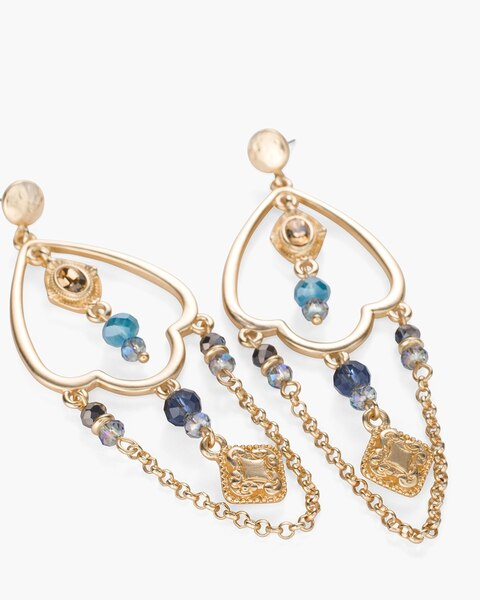 Cara Chandelier Earrings Chicos