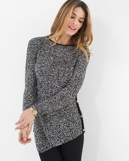 Chico's Tweed Knit Tunic | Tuggl
