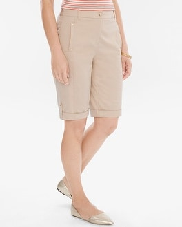Chico's Comfort Waist Utility Shorts- 12 Inch Inseam | Tuggl