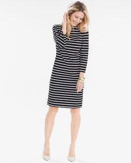Chico's Nautical Striped Dress | Tuggl