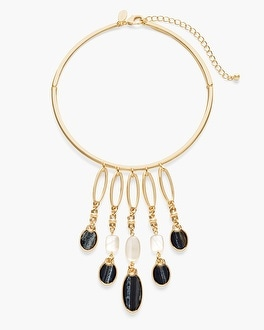 Chico's Marla Bib Necklace at Chico's in Brooklyn, NY | Tuggl