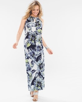 Chico's Floral Maxi Dress | Tuggl