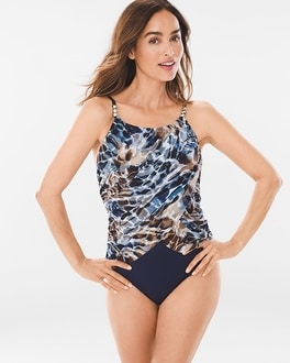 Chico's Natural Habitat Lisa One-Piece Swimsuit | Tuggl