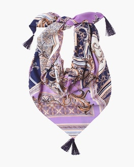 Chico's Medallion Paisley Square Scarf | Tuggl