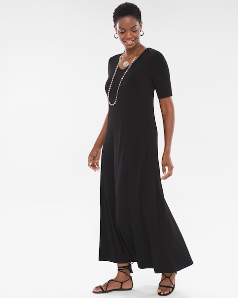 13cb6ecebca Return to thumbnail image selection Solid Maxi Dress video preview image