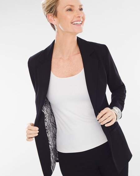 Black and white blazer canada