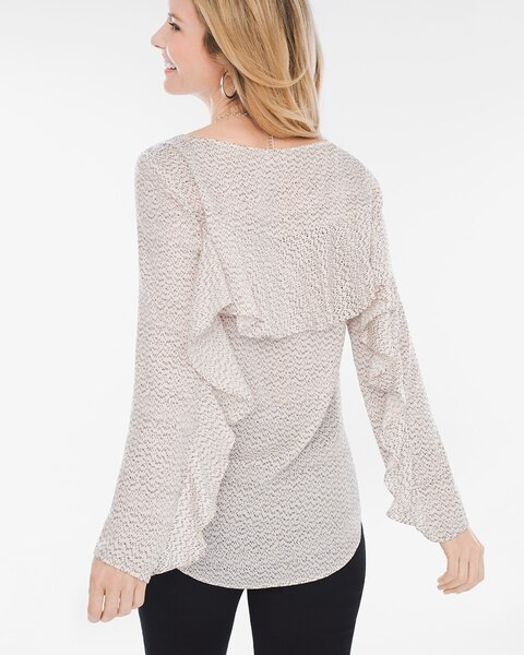 Ruffle-Back Top