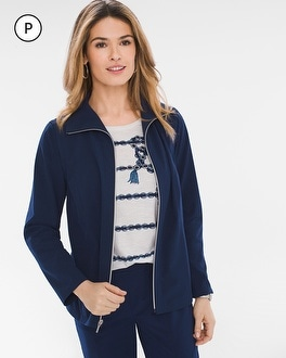 Chico's Petite Neema Convertible Jacket | Tuggl