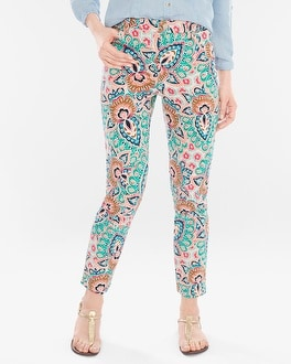 Chico's Bombay Medallion Girlfriend Ankle Jeans | Tuggl
