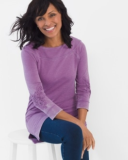 Chico's Washed Tunic | Tuggl