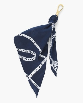 Chico's Tassel-Print Scarf Drop-Off | Tuggl