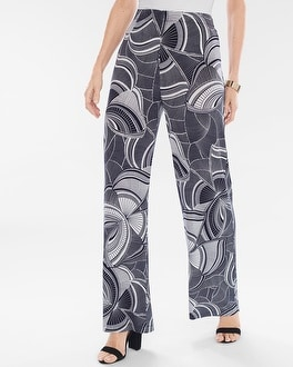 Chico's Graphic Butterfly Palazzo Pants at Chico's in Brooklyn, NY | Tuggl