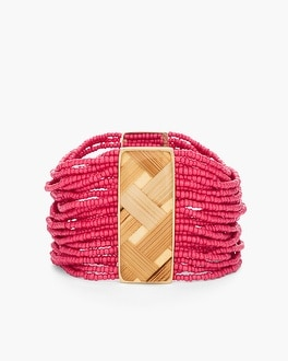 Chico's Maya Seedbead Stretch Bracelet at Chico's in Auburn, GA | Tuggl