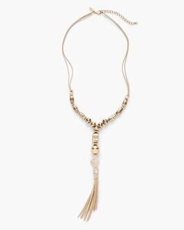 Chico's Gigi Tassel Necklace | Tuggl