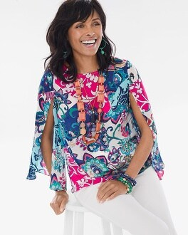 Chico's Floral Pullover | Tuggl