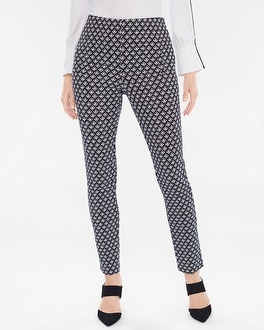 Chico's Juliet Geo Ankle Pants | Tuggl