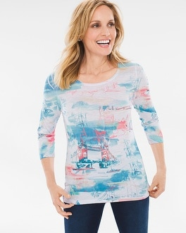 Chico's Scenic Waterview Tee | Tuggl