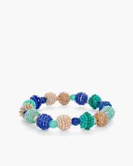 Chico's Cool Seed Bead Stretch Bracelet at Chico's in Auburn, GA | Tuggl