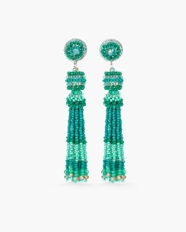Chico's Cool Seed Bead Tassel Earrings at Chico's in Auburn, GA | Tuggl
