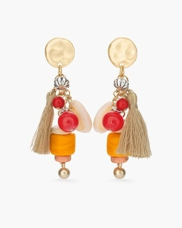 Chico's Warm Charm Earrings at Chico's in Auburn, GA | Tuggl