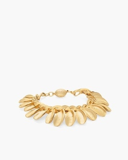 Chico's Gold-Tone Leaf Magnetic Bracelet at Chico's in Auburn, GA | Tuggl