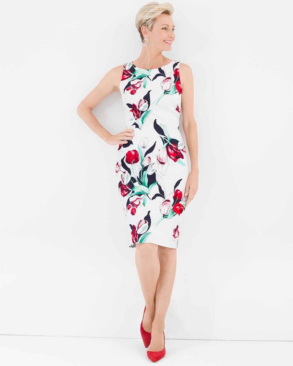 d3f93eeb8aa3c Tulip Floral Dress