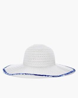 Chico's Eyelet Sun Hat at Chico's in Auburn, GA | Tuggl