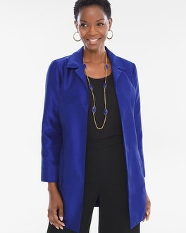 Chico's Textured Jacket | Tuggl