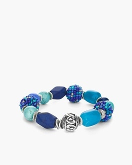 Chico's Cool Ball Stretch Bracelet at Chico's in Brooklyn, NY | Tuggl
