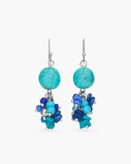 Chico's Cool Ball Cluster Earrings | Tuggl